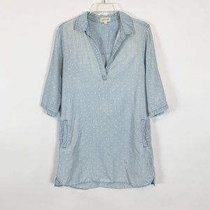 Cloth & Stone Blue Dress with Pockets Size Large